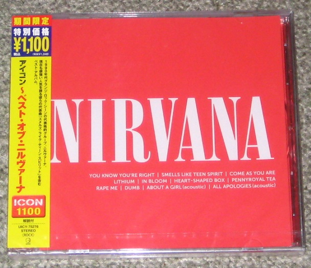 Nirvana - Icon - Best Of Nirvana