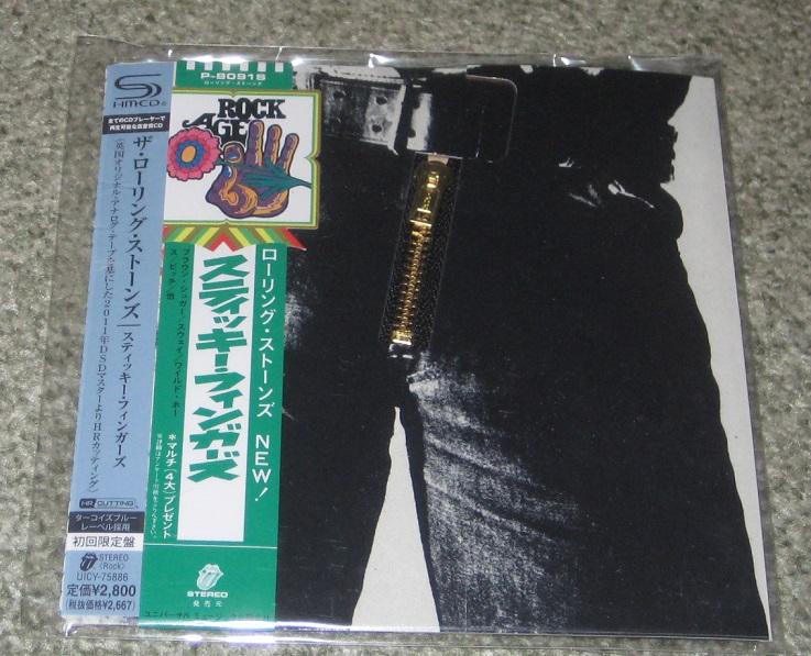 Rolling Stones - Sticky Fingers Shm-cd Card Slv