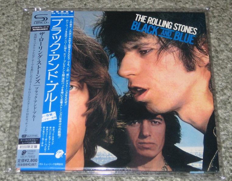 Rolling Stones - Black & Blue Shm-cd Card Slv