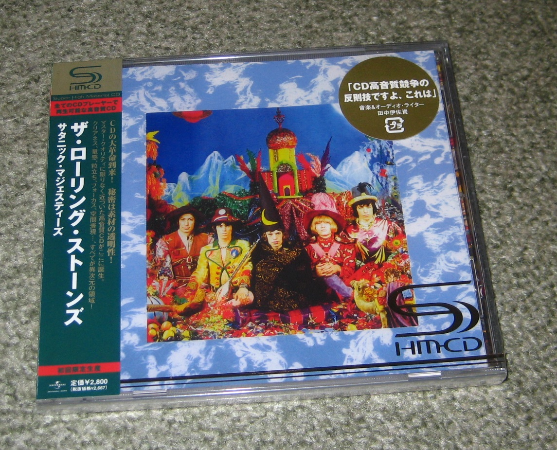 Rolling Stones - Their Satanic Majesties Shm-cd