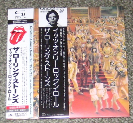 Rolling Stones - It's Only Rnr Shm Card Sleeve