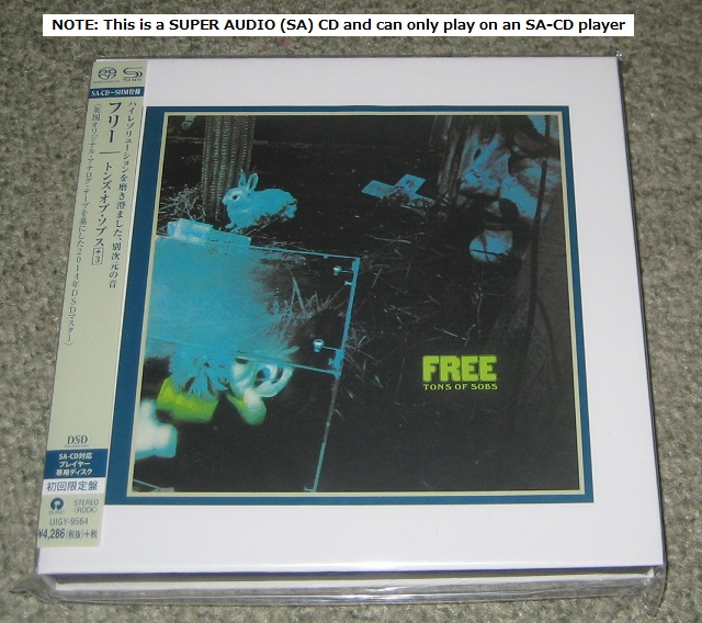 Free - Tons Of Sobs - Shm Sa-cd
