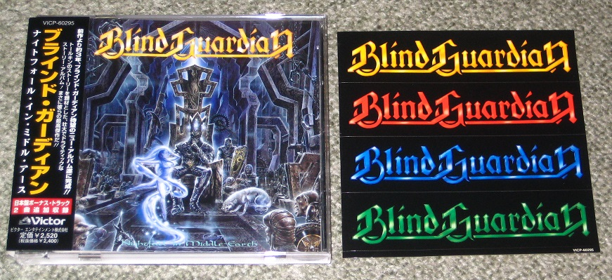 Blind Guardian Nightfall+In+Middle+Earth CD