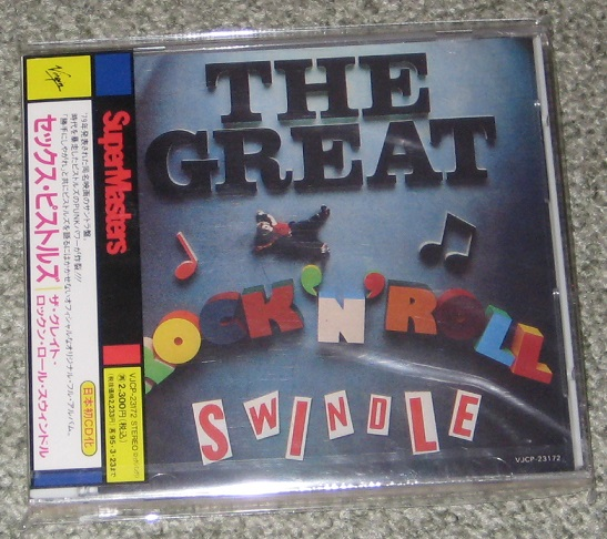 Sex Pistols - The Great Rnr Swindle 1st Issu