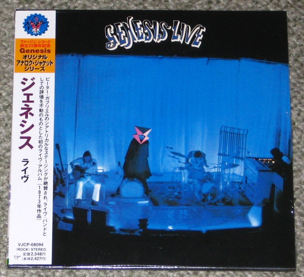 Genesis - Live - Card Sleeve Mini Lp