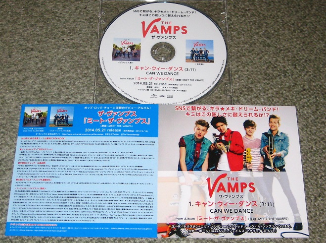 The Vamps Records Lps Vinyl And Cds Musicstack