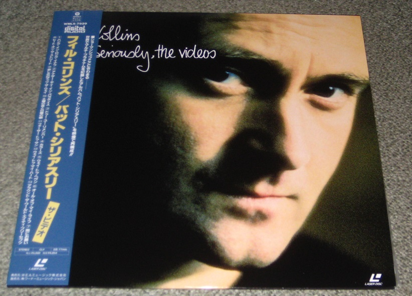 COLLINS, PHIL - Seriously, The Videos - Laser Disc