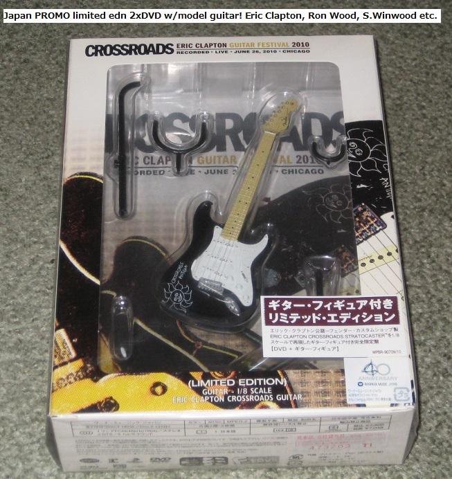 Clapton, Eric - Crossroads 2xdvd & Mini Guitar