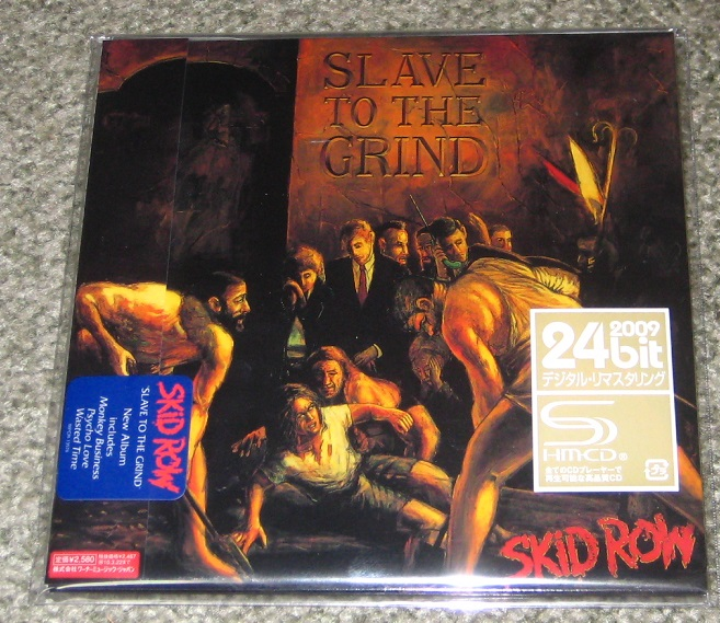 skid row slave to the grind records lps vinyl and cds